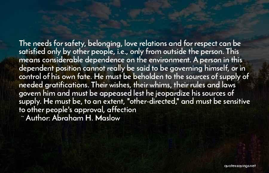 Abraham H. Maslow Quotes 2012738
