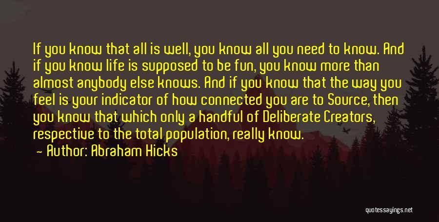 Abraham Hicks Quotes 1767981