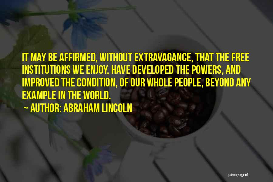 Abraham Lincoln Quotes 1216485