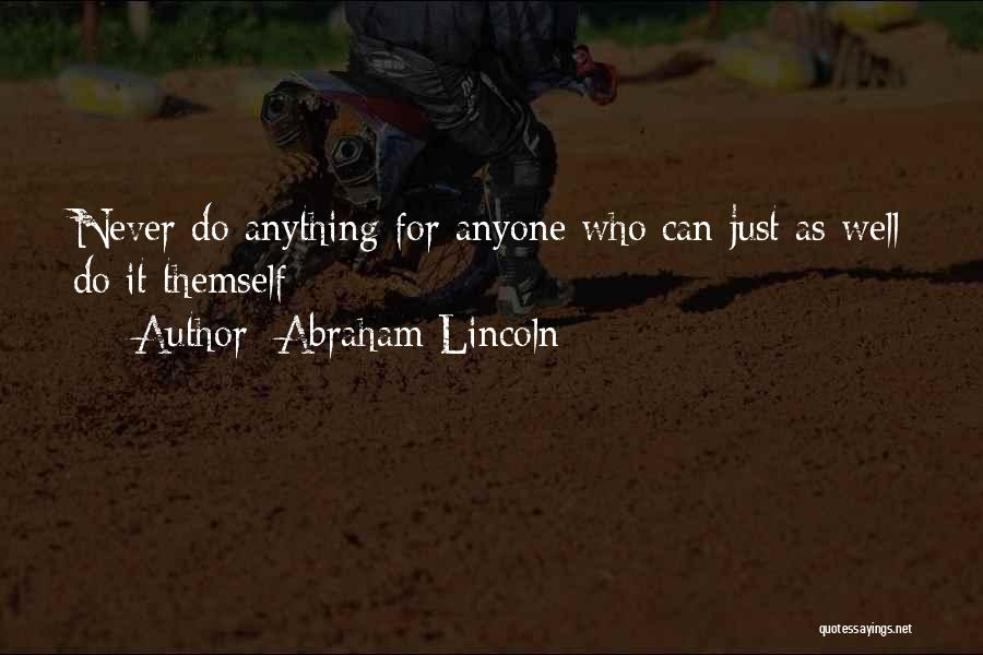 Abraham Lincoln Quotes 875356