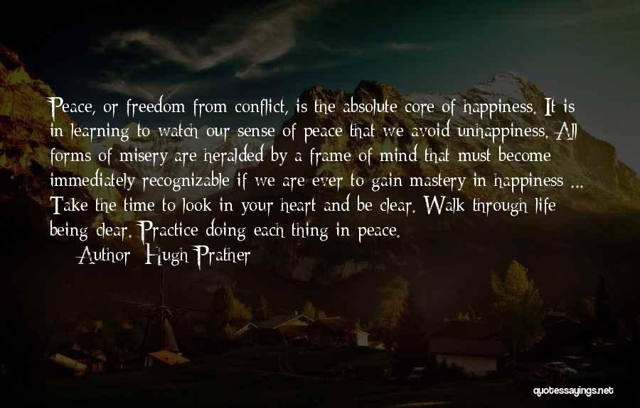 Absolute Peace Quotes By Hugh Prather