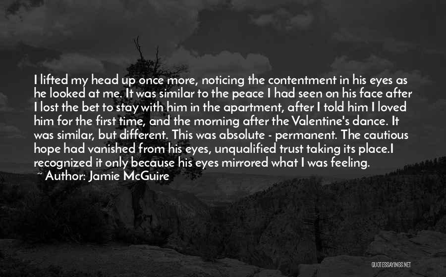 Absolute Peace Quotes By Jamie McGuire