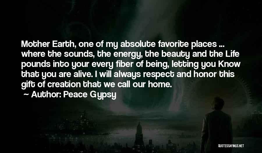 Absolute Peace Quotes By Peace Gypsy
