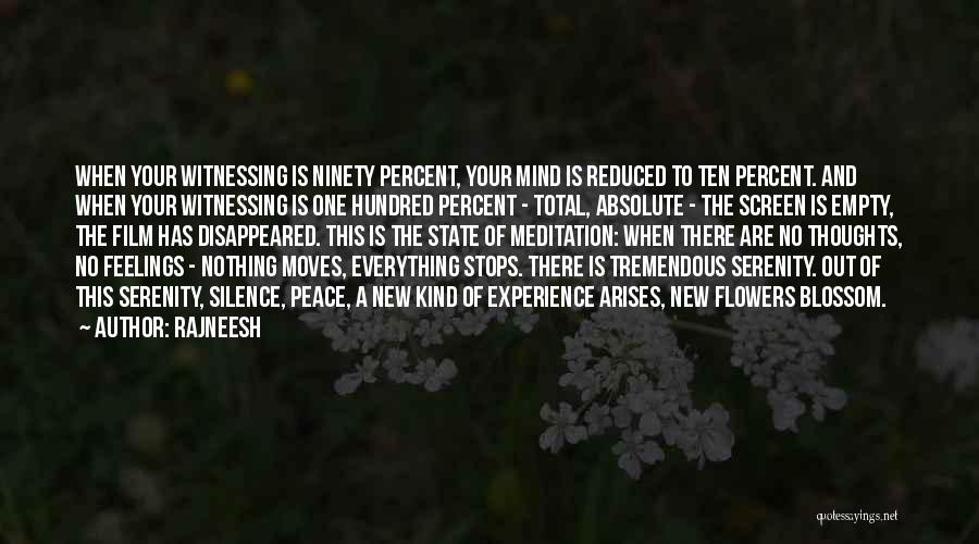 Absolute Peace Quotes By Rajneesh