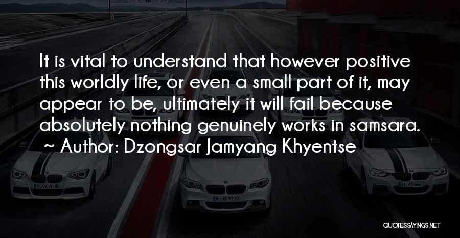 Absolutely Nothing Quotes By Dzongsar Jamyang Khyentse