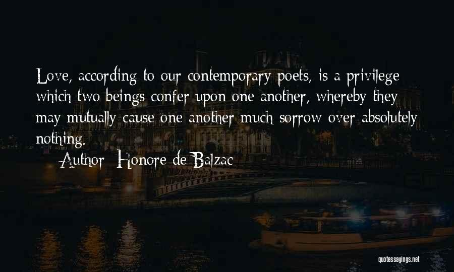 Absolutely Nothing Quotes By Honore De Balzac