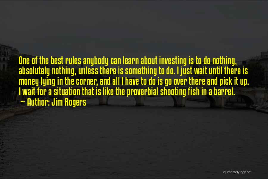 Absolutely Nothing Quotes By Jim Rogers