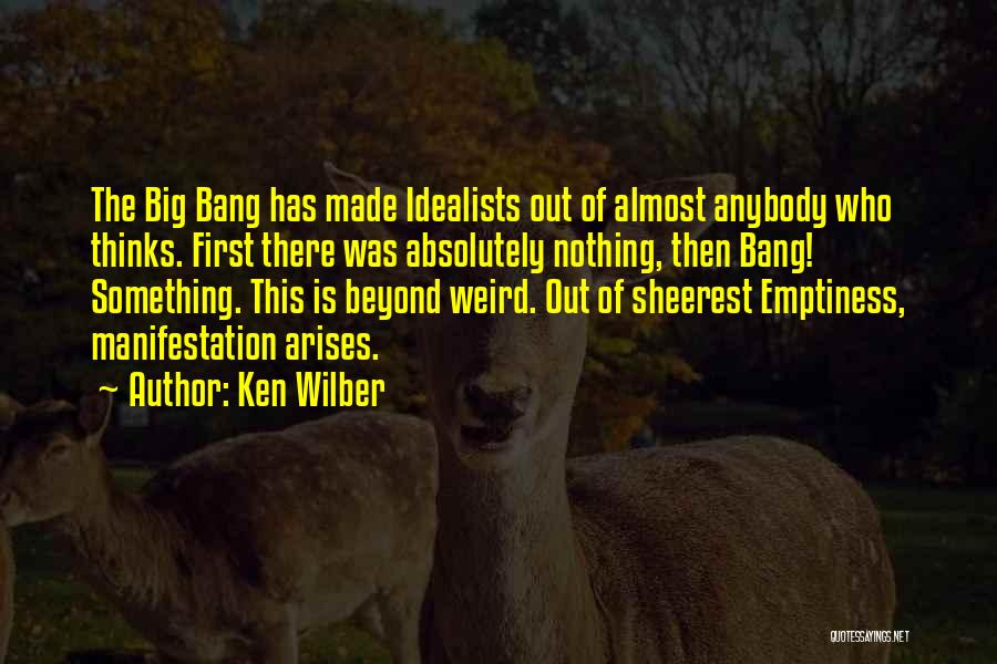 Absolutely Nothing Quotes By Ken Wilber