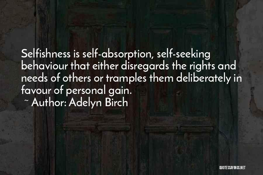 Absorption Quotes By Adelyn Birch