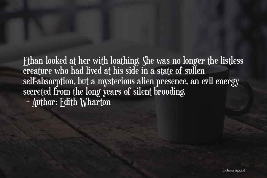 Absorption Quotes By Edith Wharton
