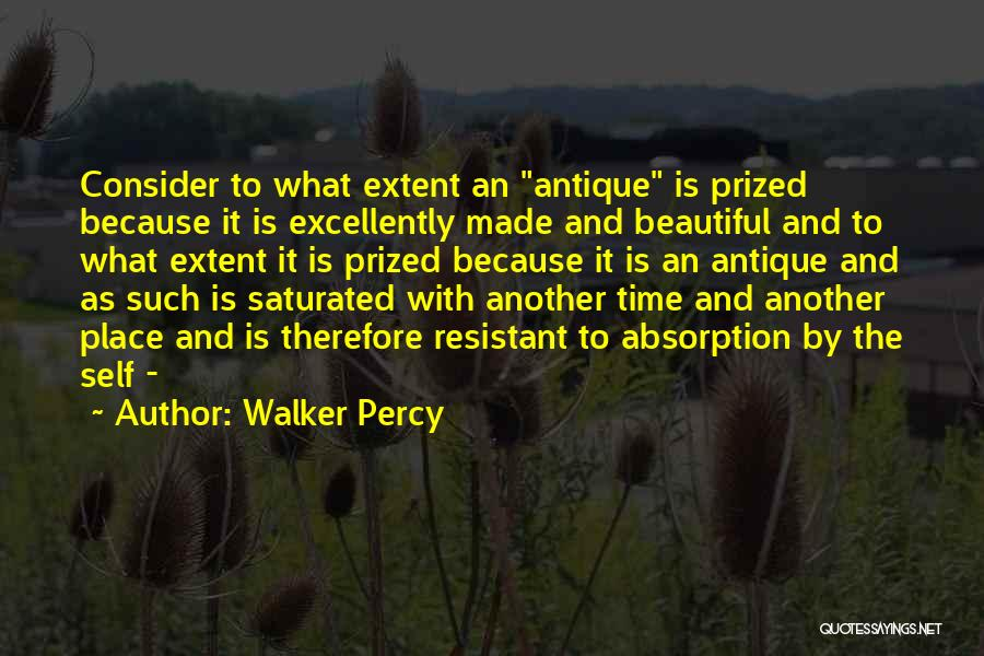 Absorption Quotes By Walker Percy
