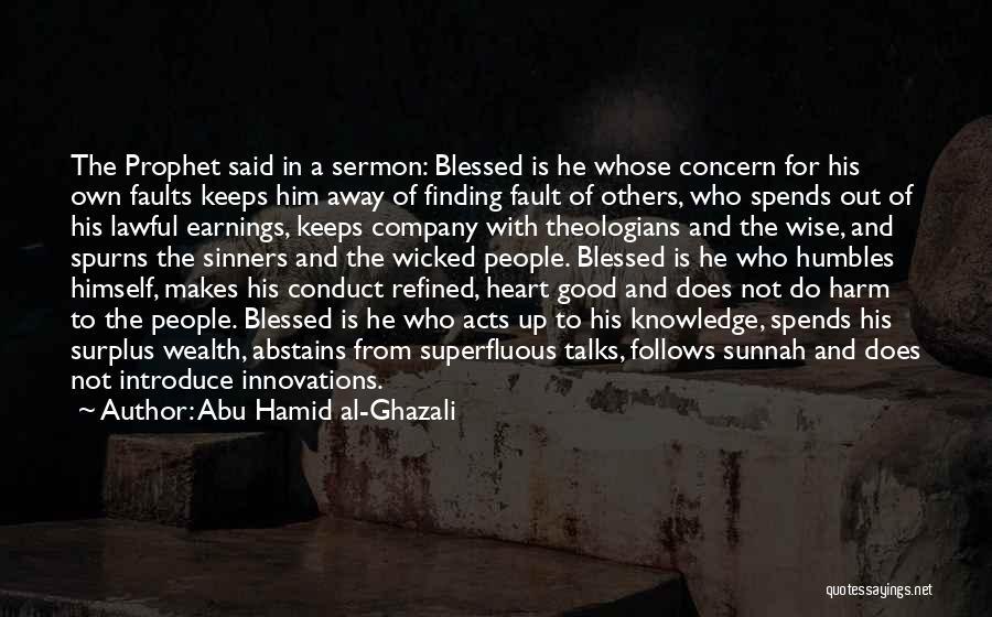 Abu Hamid Al-Ghazali Quotes 1052129