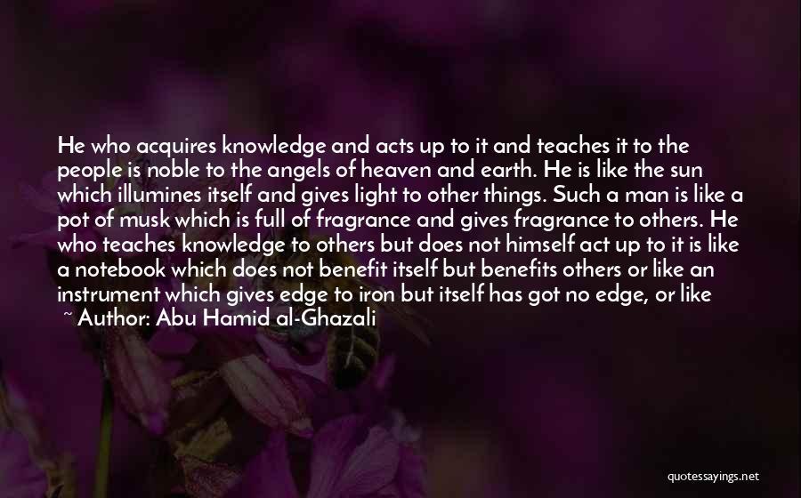 Abu Hamid Al-Ghazali Quotes 1383673
