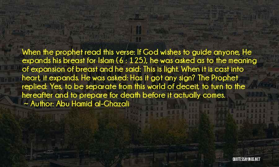 Abu Hamid Al-Ghazali Quotes 2124530