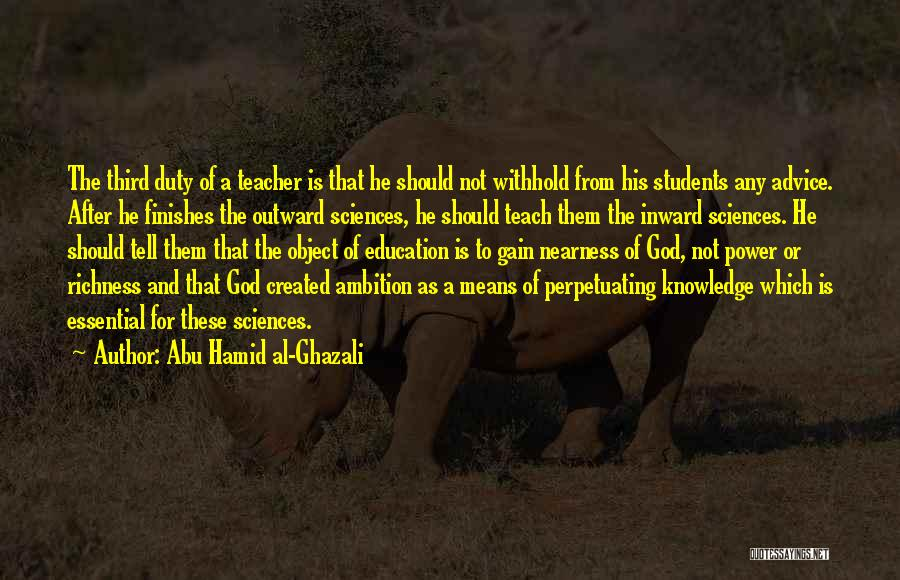 Abu Hamid Al-Ghazali Quotes 921268