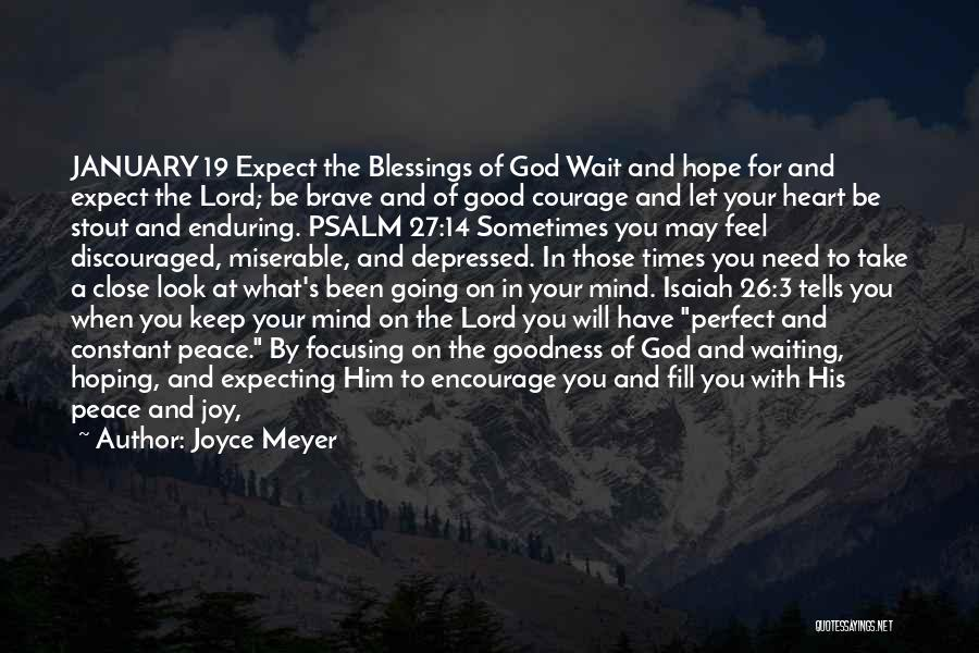 Abundant Blessings Quotes By Joyce Meyer