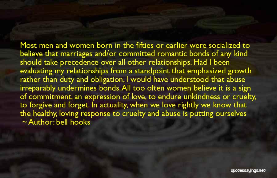 Abuse In Relationships Quotes By Bell Hooks
