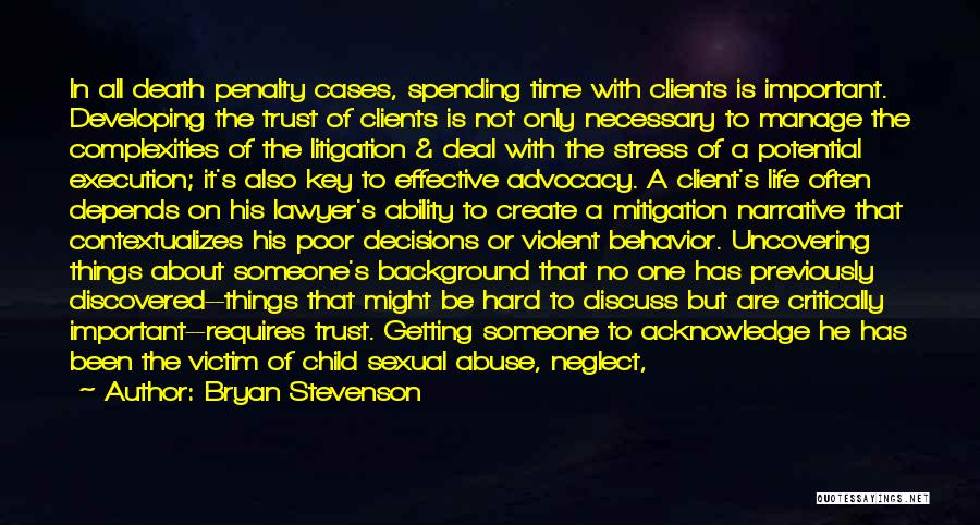 Abuse In Relationships Quotes By Bryan Stevenson