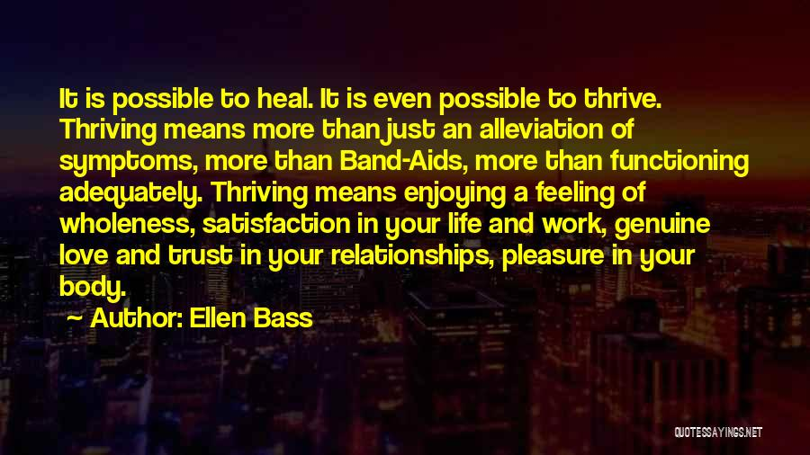 Abuse In Relationships Quotes By Ellen Bass