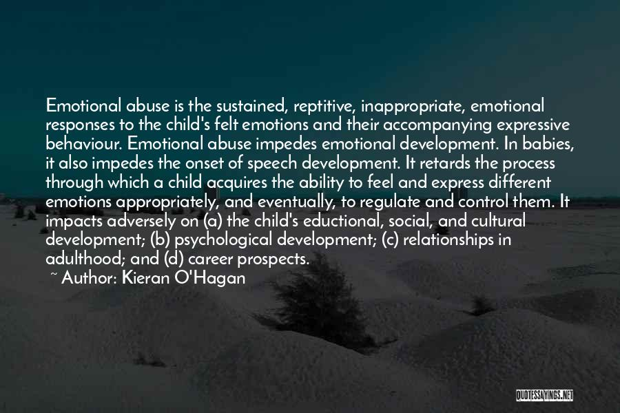 Abuse In Relationships Quotes By Kieran O'Hagan