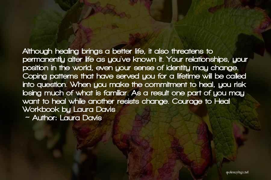 Abuse In Relationships Quotes By Laura Davis