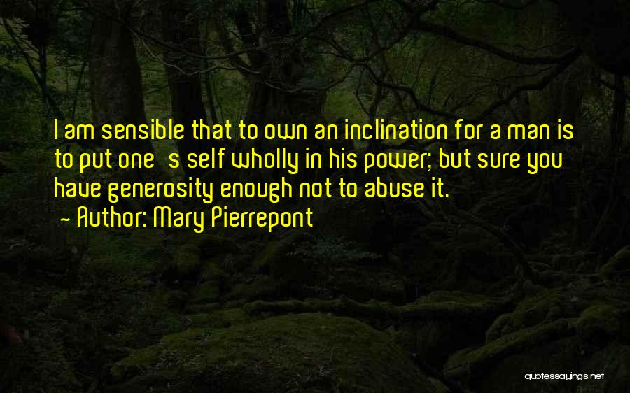 Abuse In Relationships Quotes By Mary Pierrepont