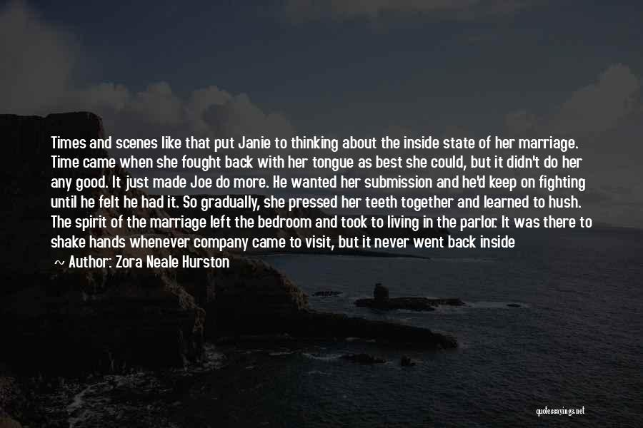 Abuse In Relationships Quotes By Zora Neale Hurston