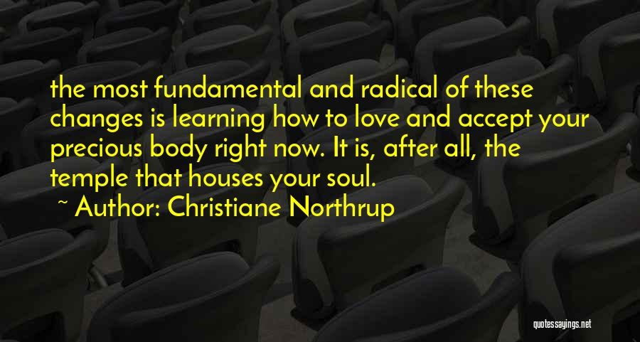 Accept Changes Quotes By Christiane Northrup