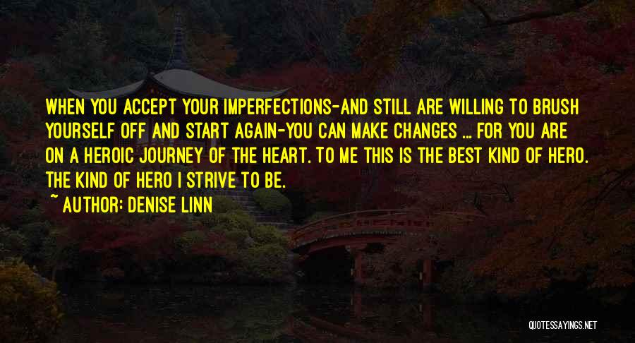 Accept Changes Quotes By Denise Linn