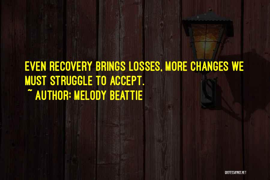 Accept Changes Quotes By Melody Beattie