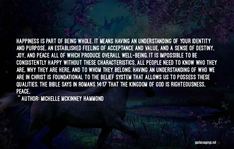 Acceptance In A Relationship Quotes By Michelle McKinney Hammond