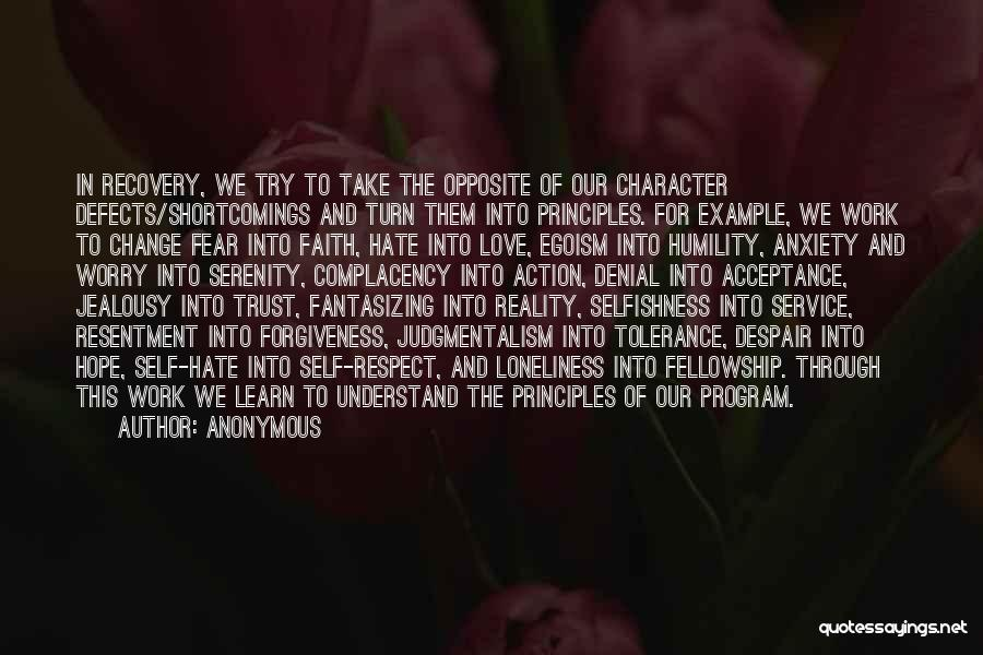Acceptance Of Change Quotes By Anonymous