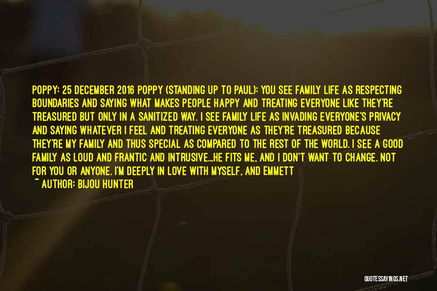 Acceptance Of Change Quotes By Bijou Hunter