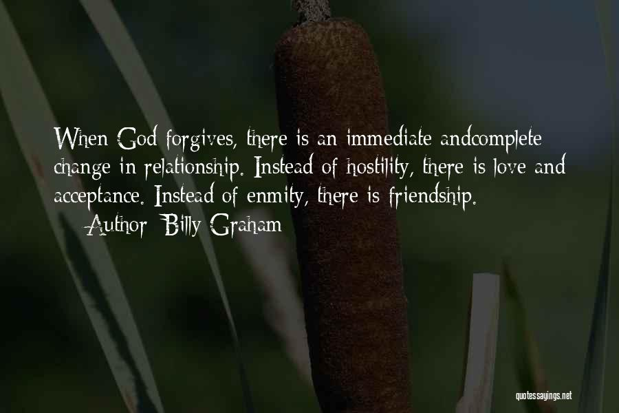Acceptance Of Change Quotes By Billy Graham