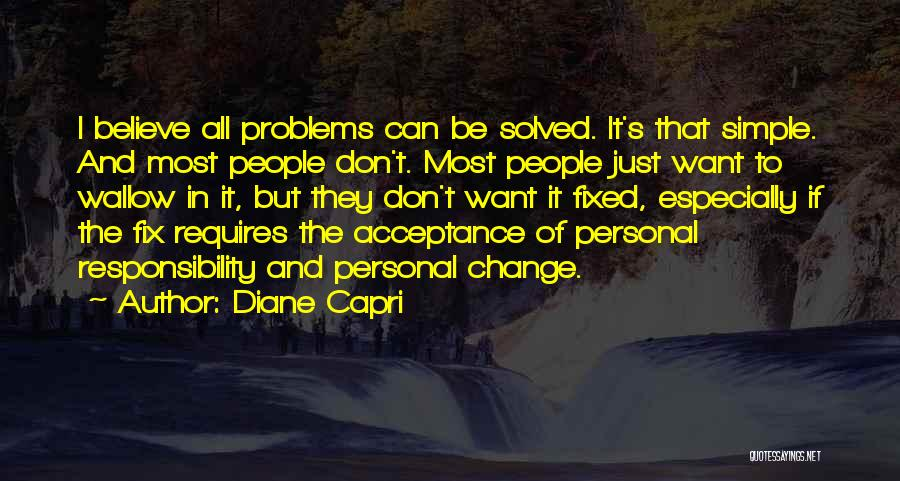 Acceptance Of Change Quotes By Diane Capri