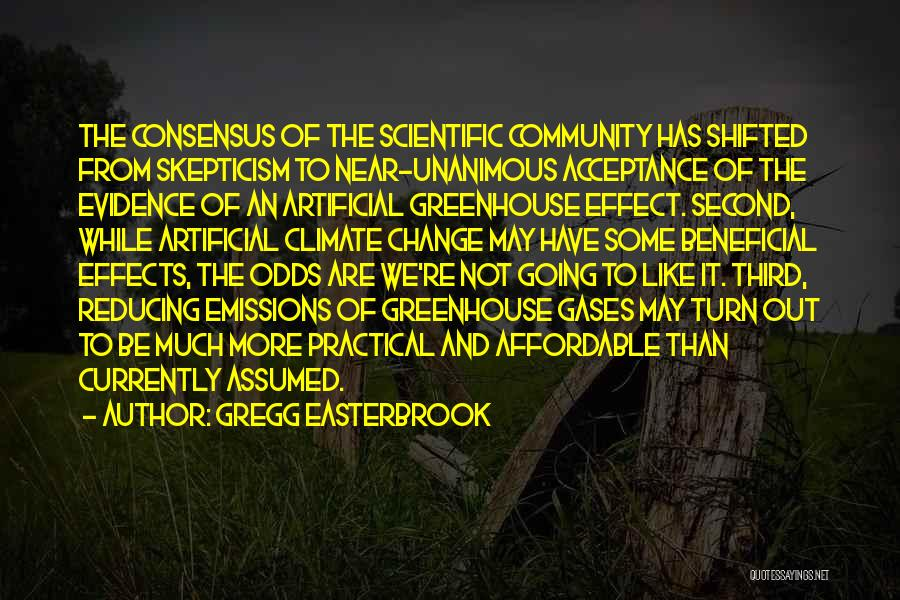 Acceptance Of Change Quotes By Gregg Easterbrook