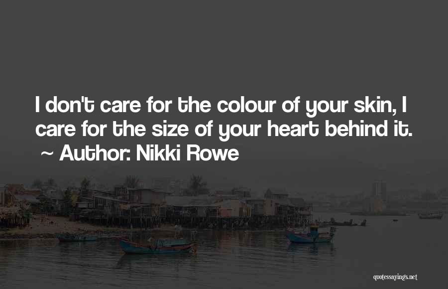 Acceptance Of Change Quotes By Nikki Rowe