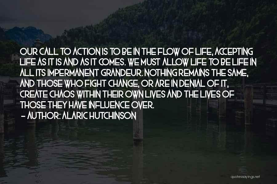 Accepting Its Over Quotes By Alaric Hutchinson