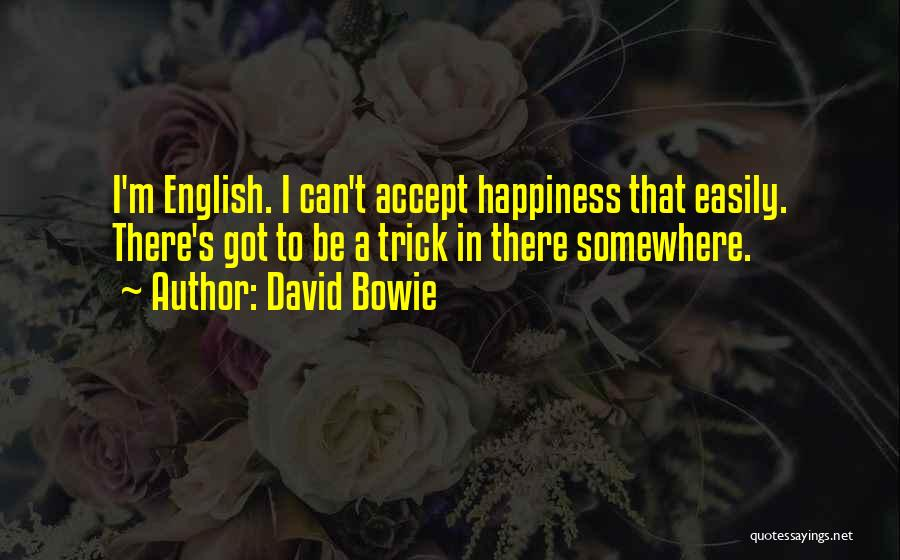 Accepting Its Over Quotes By David Bowie