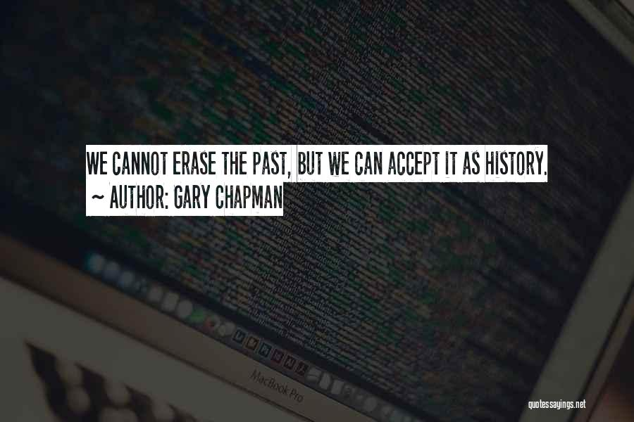 Accepting Its Over Quotes By Gary Chapman