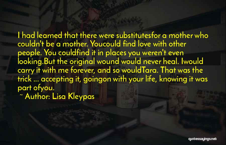 Accepting Its Over Quotes By Lisa Kleypas