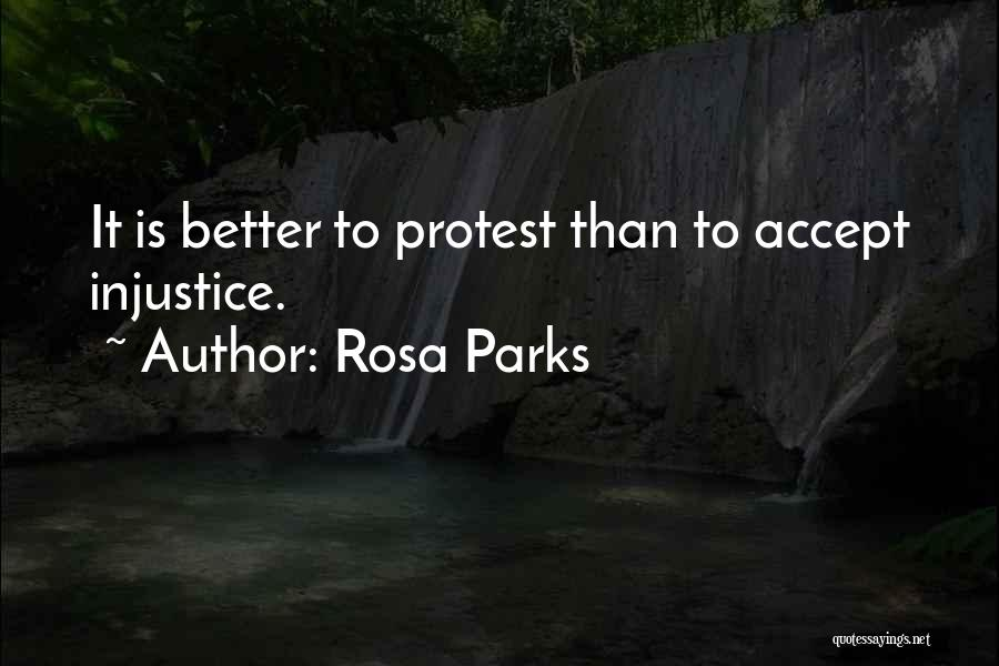 Accepting Its Over Quotes By Rosa Parks