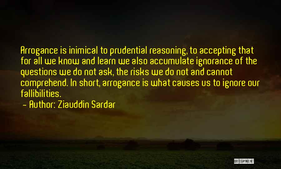 Accepting Its Over Quotes By Ziauddin Sardar