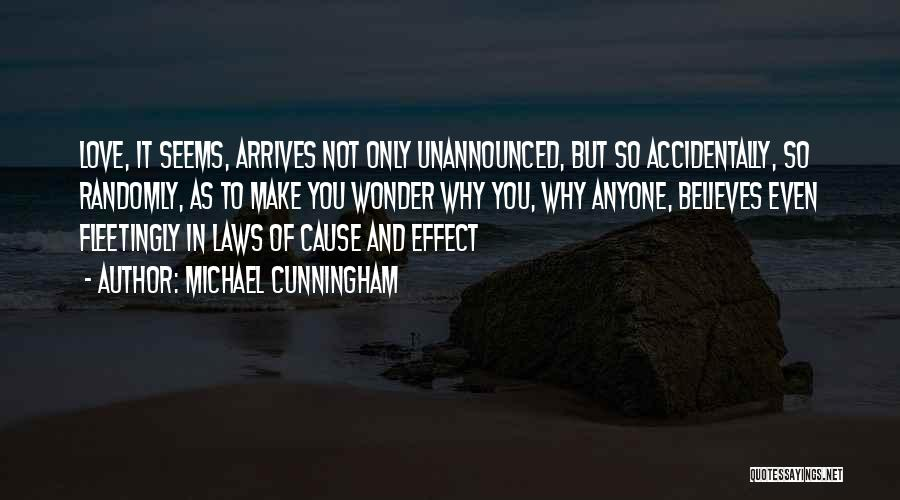 Accidentally In Love Quotes By Michael Cunningham