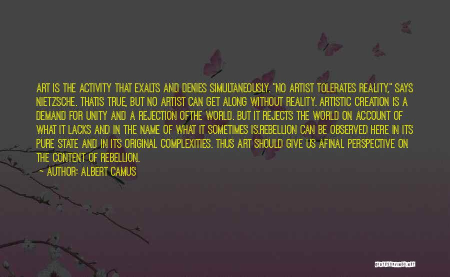Account Quotes By Albert Camus