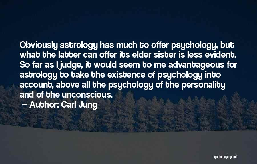 Account Quotes By Carl Jung