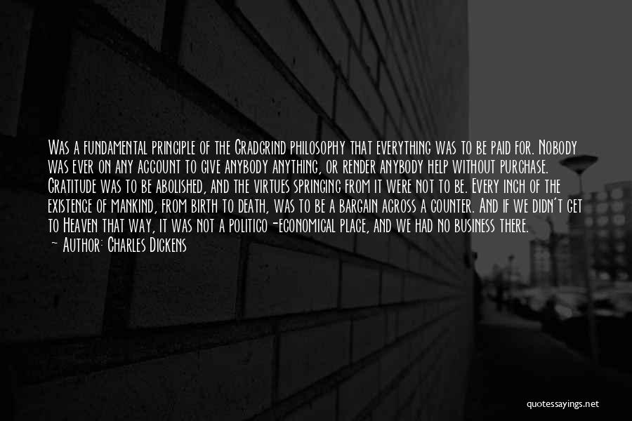 Account Quotes By Charles Dickens