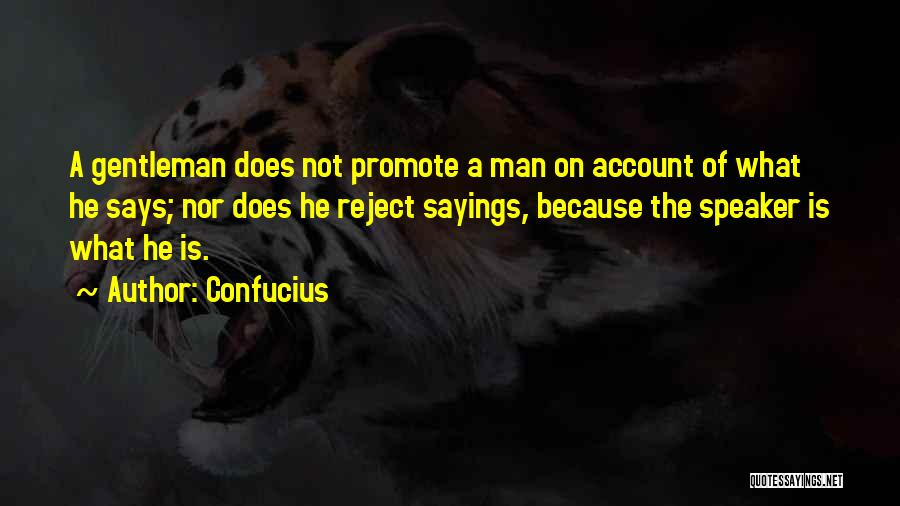 Account Quotes By Confucius
