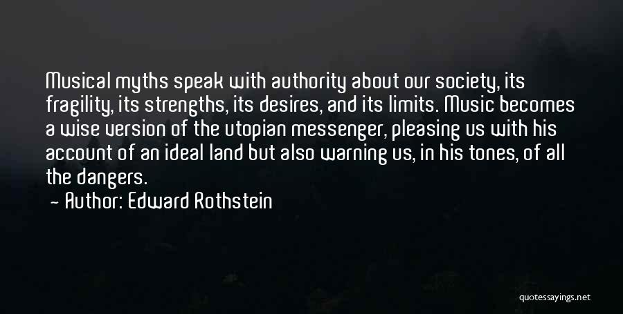 Account Quotes By Edward Rothstein