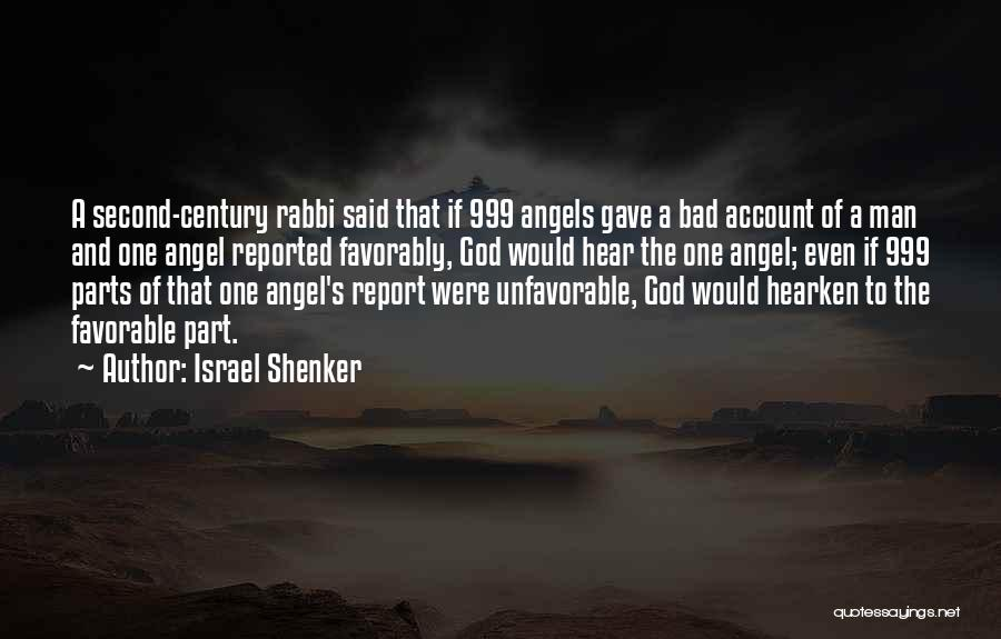 Account Quotes By Israel Shenker